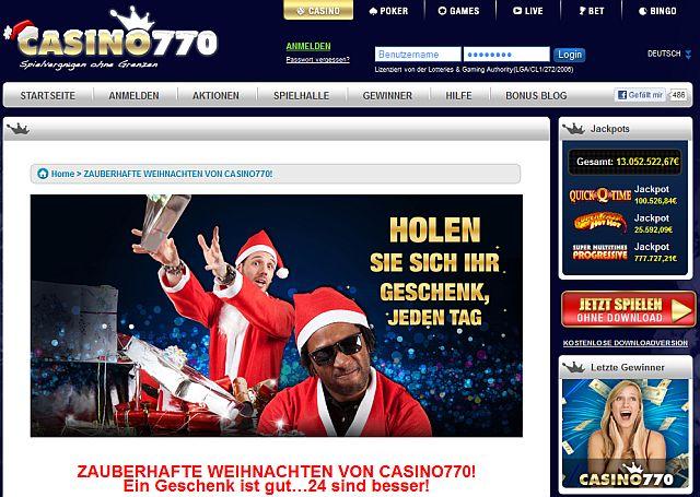 Advent im Casino 770