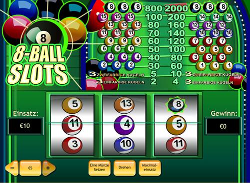 Spielen sie 8 Ball Automatenspiele Online bei Casino.com Österreich