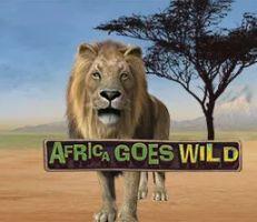 Africa goes Wild Slot Logo