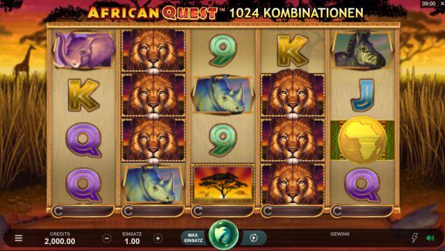 African Quest Vorschau