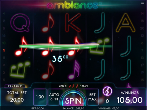 ambiance online slot