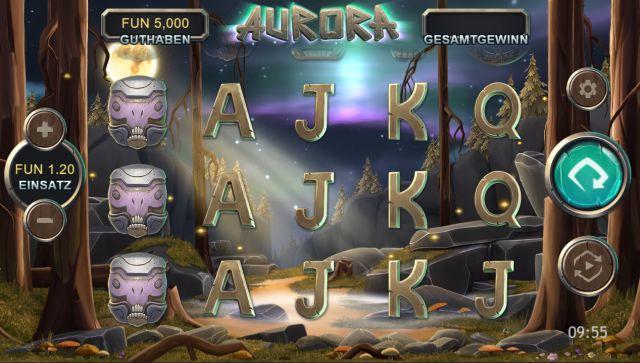 Aurora Slot Vorschau