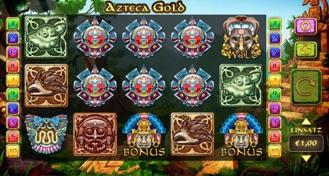 Azteca Gold Slot Vorschau