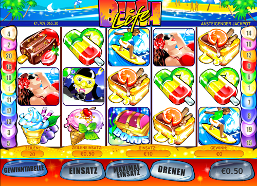 beach life online slot im winner casino