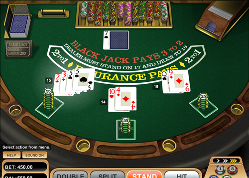 black jack single deck im mr green casino spielen