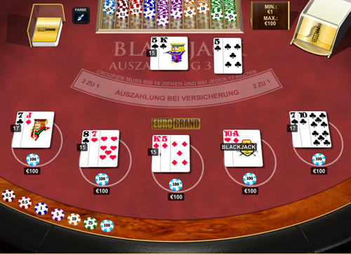 blackjack online casino spiele king