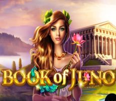 Book of Juno Slot Logo