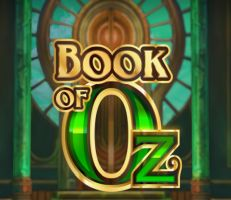 Book of Oz Slot Logo