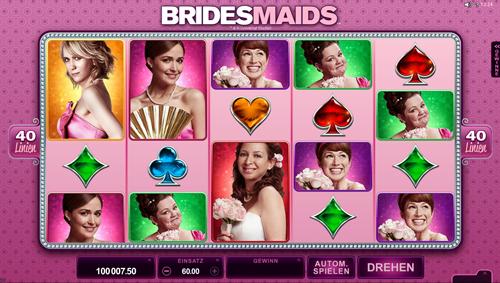 bridesmaids automatenspiel