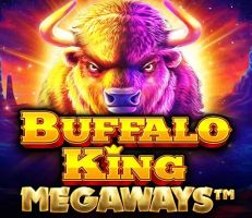 Buffalo King Megaways Logo