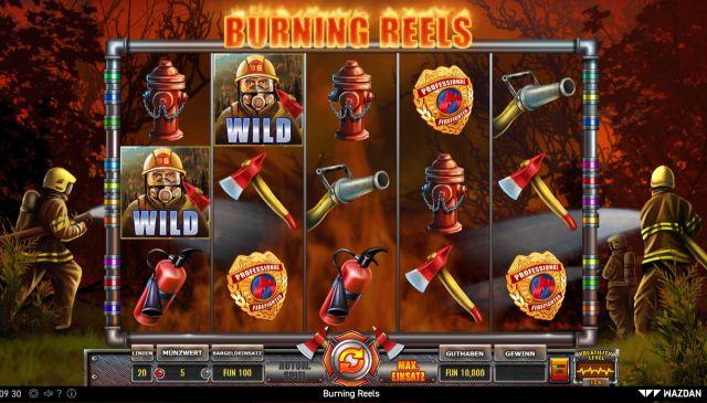 Burning Reels Vorschau