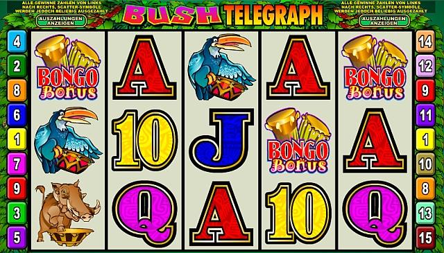 Bush Telegraph™ Slot spel spela gratis i Microgaming Online Casinon