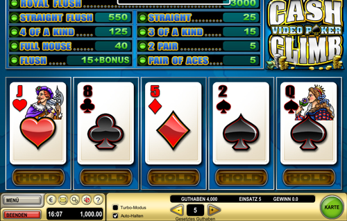 cash-climb-poker videopoker