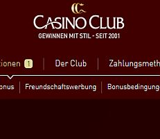 Casino Club verlost Tickets