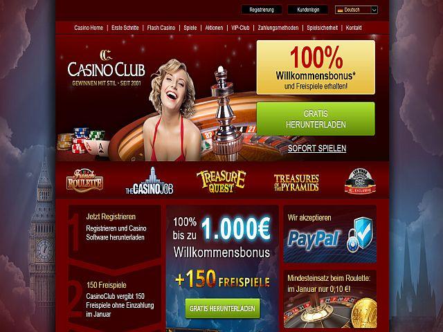 Casino Club Jackpots