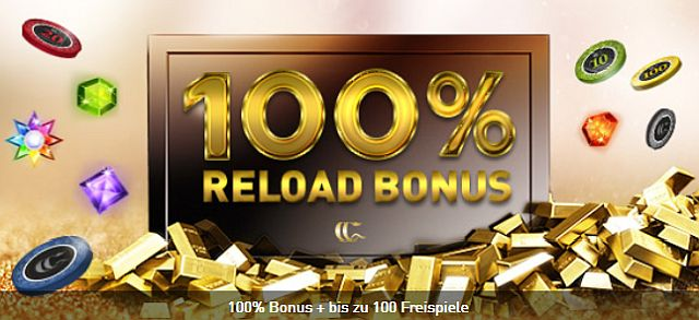 Casino Club Reload Bonus