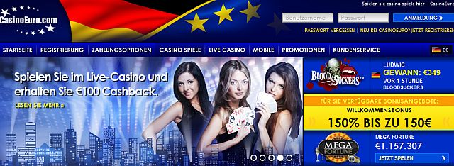 Casino Euro Jackpots