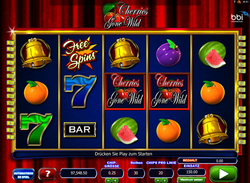 cherries-gone-wild online slot