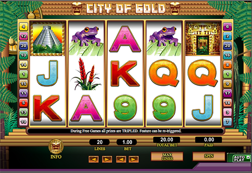 City of Gold slot - spil gratis 888 spilleautomater online