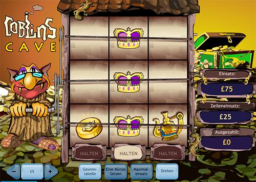 coblins cave casino spiel im william hill online casino