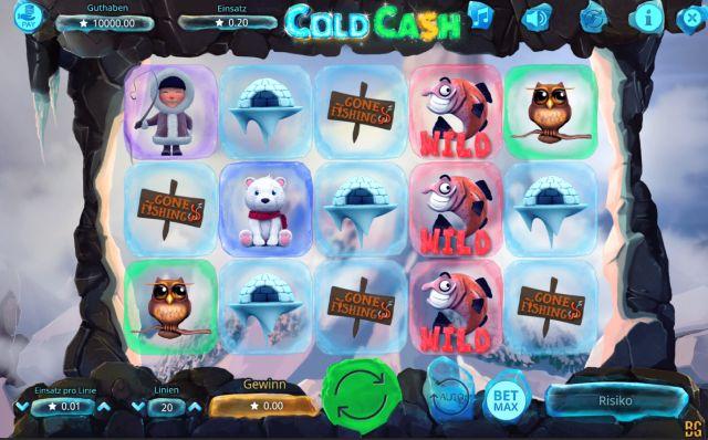 Cold Cash Booming Games Vorschau