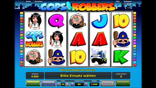 online casino freispiele cops and robbers slots