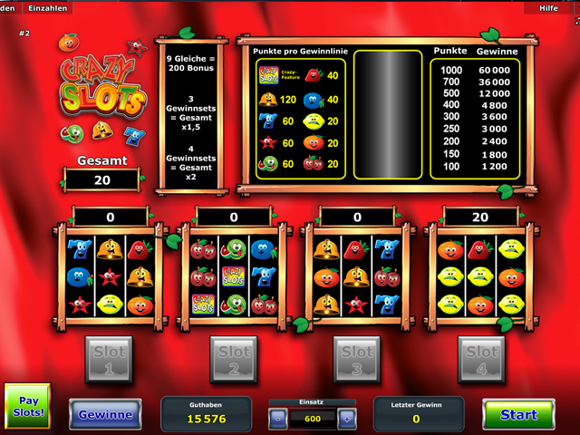 online slot machines crazy slots casino