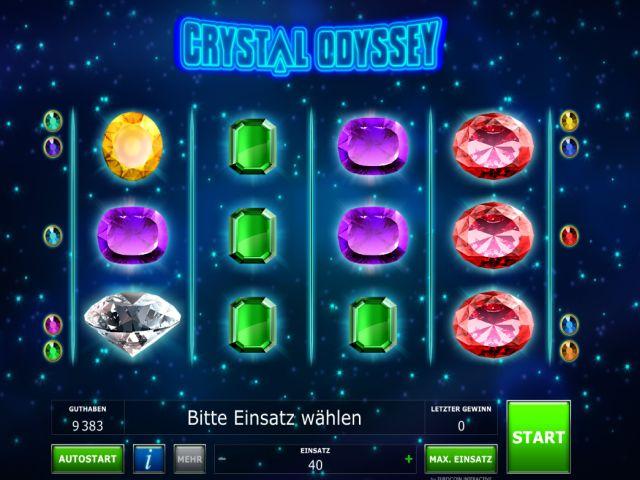 Crystal Odyssey Novoline Vorschau