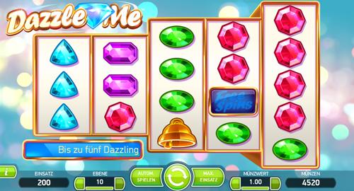 dazzle-me online slot