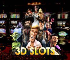 3D Spielautomaten online