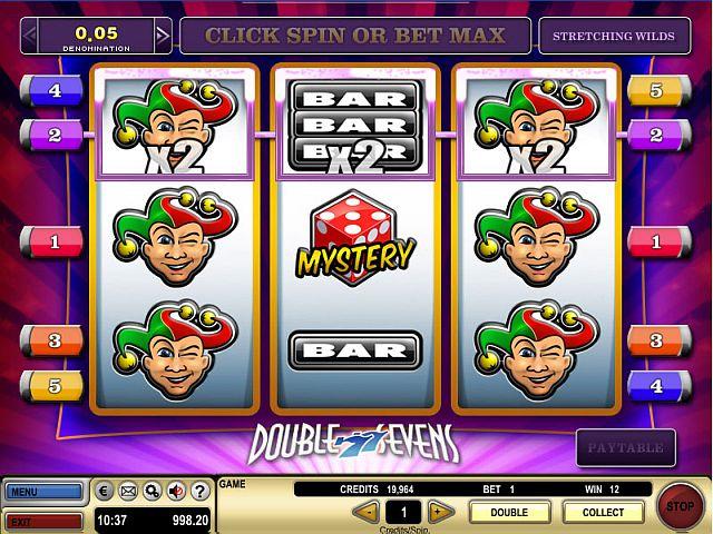 Double Sevens Spielautomat