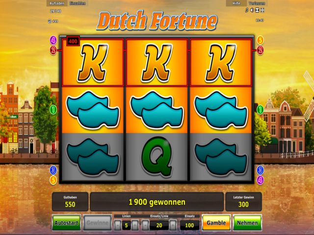 dutch fortune spielen