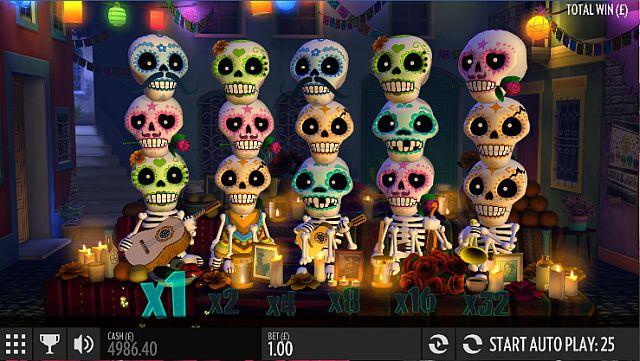 Spielen Sie exklusiv bei Mr Green Esqueleto Explosivo