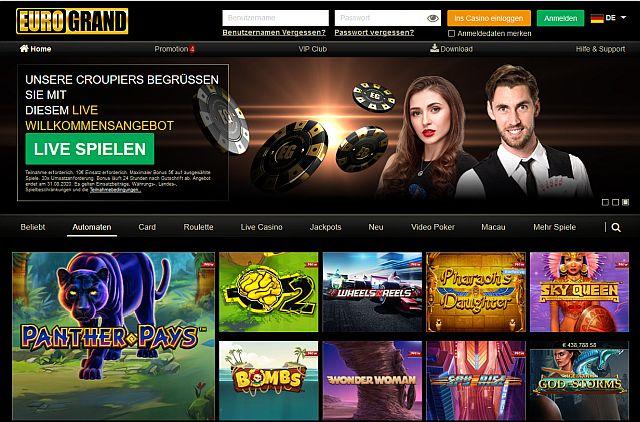 Eurogrand Casino Startseite