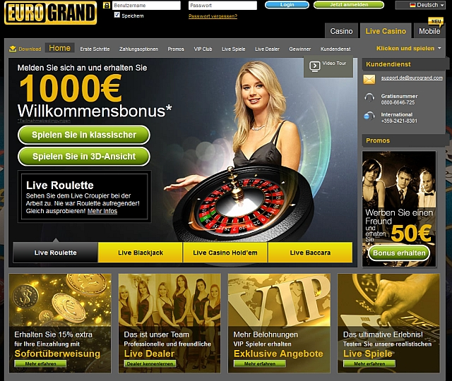 eurogrand casino test