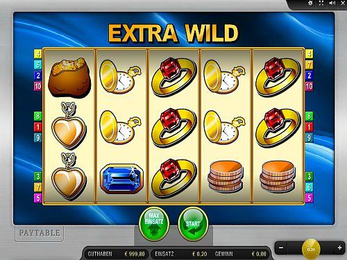 best online casino extra wild spielen