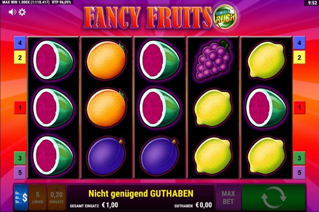 Fancy Fruits Double Rush Vorschau