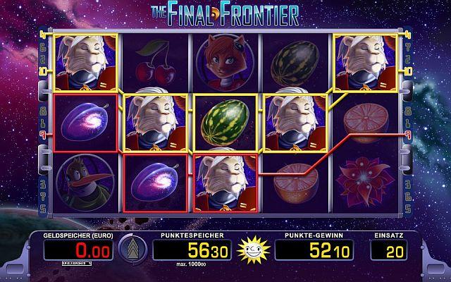 Final Frontier Slot - Spielen Sie gratis ohne Download