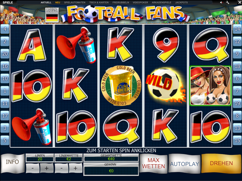 football fans online slot im winner casino