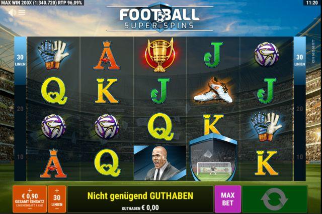 Football Super Spins Vorschau