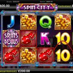 free spin city online slot