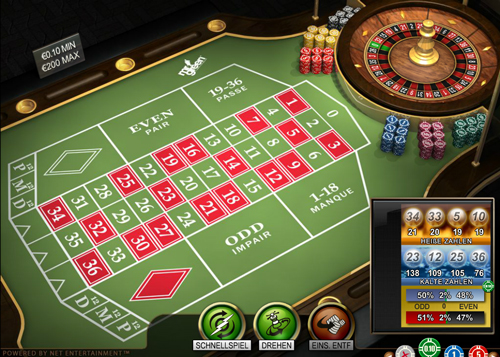 french roulette online im mr green casino spielen