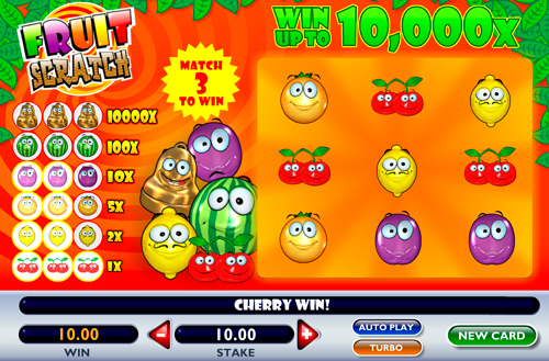 Merry Fruits - 5 Walzen Slot legal online spielen OnlineCasino Deutschland