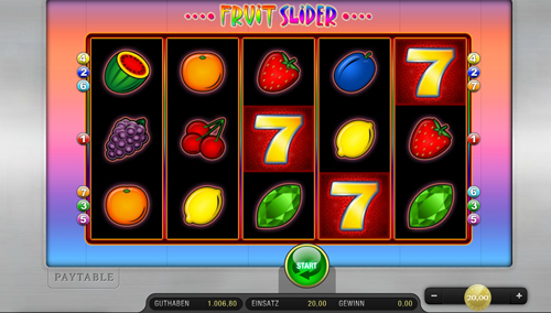 fruit-slider merkur spiel