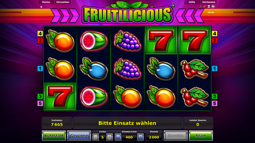 fruitilicious novoline spiel