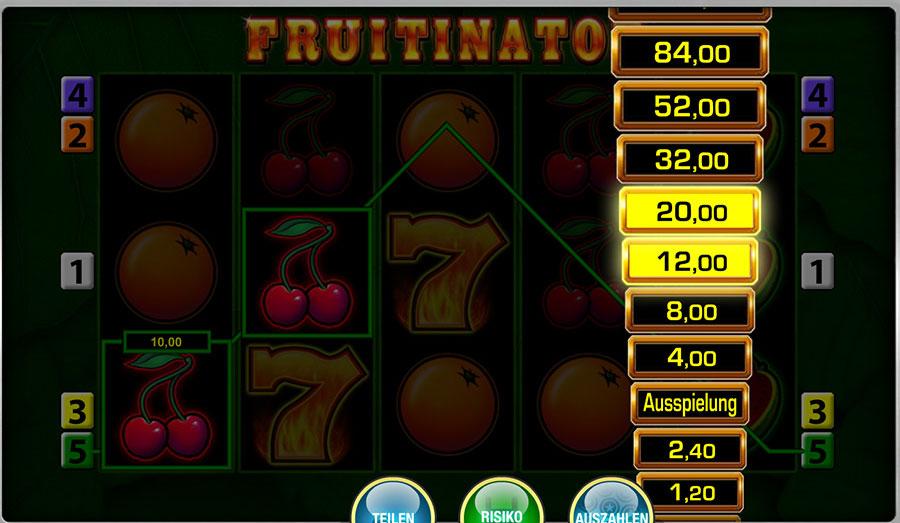 Fruitinator Online Casino