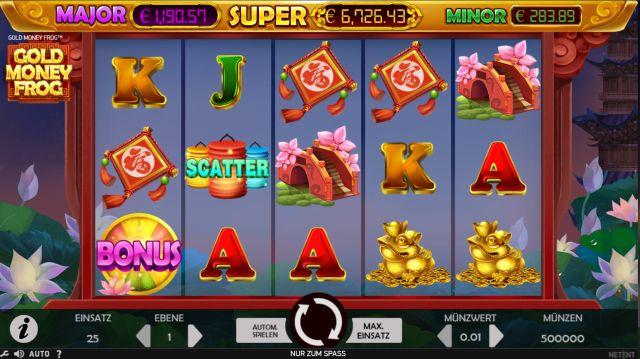 Gold Money Frog Vorschau