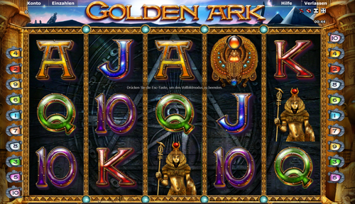 golden ark slot von novoline im gametwist casino