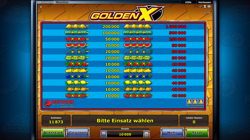 Spiele Golden X Casino - Video Slots Online