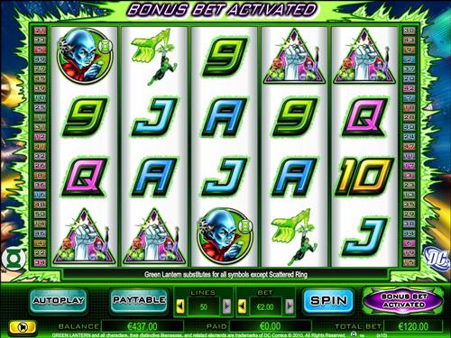 Gratis Green Lantern Slots – Spielen Sie Online & gewinnen Sie Geld